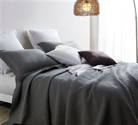 Alloy Cotton Virtue Textured Quilt - Oversized Full XL