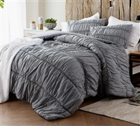 Alloy Cotton Lace Textured Quilt - King XL