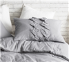 Alloy Cadence Textured Queen sized bedding Shams - Add soft bedding shams to Queen size bedding sets