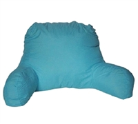 Microfiber Aqua Bedrest - Aqua Blue Bedding Bedrest