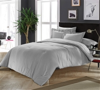 Chino Alloy Gray Queen Comforter Queen Bedding Oversized Queen Comforter