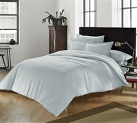 Chino Glacier Gray King Comforter Oversized King XL Bedding Oversized King XL Comforter