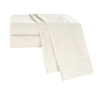 White Sand Tencel King Sheets King Bedding Essentials King Sheet Set