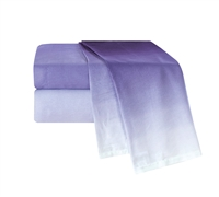 Ombre Purple Bed Sheets in Queen - Soft Sheets in Purple Queen Size