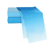 Ombre Aqua XL Full Bedding Sheets - Soft Sheets in Full XL Available