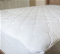 California King Mattress Toppers - Perma-Dry Sound-Free Waterproof Bedding Toppers in King