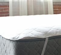 Full Mattress Pads - Anchor Band Waterproof Bedding Toppers Full Size