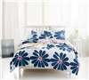 Cobalt Bloom Full Comforter