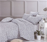 Dawning Gray Bedding Sets in Queen - Softest Queen Size Comforter in Gray