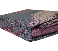 Tyrian Purple Full XL size Sheet Sets - Comfortable Bed Sheets in Full XL