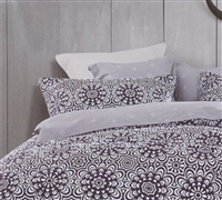 Apollo Purple Bedding Sheet Sets Queen  - Soft Sheet Sets Queen Size