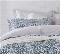 Apollo Tealed Gray Bedding Sets in Queen - Soft Queen Size Sheet Sets in Gray