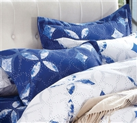 Standard Pillow Shams - Sapphire Peace Bedding Pillow Sham