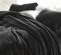 Plush and Cozy Me Sooo Comfy Twin XL Faded Black Sheets True Extra Long Twin Soft Bedding