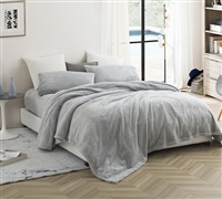 Super Soft Queen Bedding Stylish Easy to Match Glacier Gray Me Sooo Comfy® Queen Sheet Set