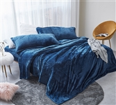Most Comfortable Bed Sheets - Me Sooo Comfy King Sheets - Navy - Super Soft Sheets