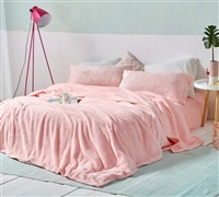 Beautiful Twin XL, Queen, or King Soft Bedding Sheets Rose Quartz Pink Stylish and Cozy Sheet Set