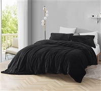Coma Inducer Duvet Cover - Plush - Black