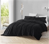 Incredibly Cozy Extra Long Twin Duvet Cover Plush Coma Inducer Affordable Black Twin XL Bedding