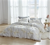 Southern Alps Textured Queen Duvet Cover - Oversized Queen XL