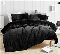 Ultra Cozy Black Coma Inducer Bedding. King Plush 4 Piece Sheet Set for King Beds