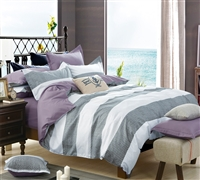 Orchid Frost Bedding Comforter Set King Size - Softest Comforter in King