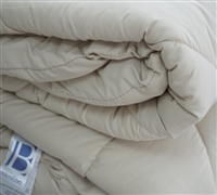 Short Queen Comforter - RV Bedding - Wood Ash