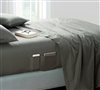 Bedside Pocket Twin XL Sheet Set - Supersoft Pewter