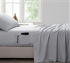 Bedside Pocket Full XL Sheet Set - Supersoft Glacier Gray