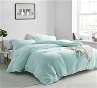 Coma Inducer Oversized Queen Comforter - Touchy Feely - Aruba