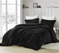 Coma Inducer Queen Duvet Cover - Touchy Feely - Black