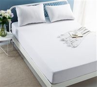 Waterproof Tencel Mattress and Pillow encasement - King size bedding mattress encasement for softest bedding set