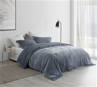 Navy Blue UB-Jealy Ultra Comfy Queen XL Bedding Unique Nightfall Navy Coma Inducer Queen Oversize Comforter
