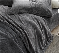 Essential King Bedding High Quality UB-Jealy Coma Inducer Complete Slate Black King Sheet Set