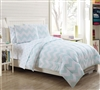Full Size Bedding Sets - Leigh 7 Piece Full Comforter Set - Soft Comforter Sets in Full