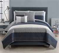Full comforter sets and Queen Bedding Quilt Sets - Nova 5 Piece Quilt Set Full Bedding - Queen Bedding