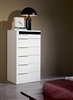 Impera White Lacquer Bedroom Chest
