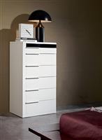 Modrest Impera White Lacquer Bedroom Chest by VIG Furniture