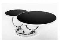 Modrest Ring - Modern Glass Coffee Table by VIG Furniture