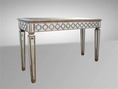 Modrest Hyde GD-1082 Transitional Mirrored Console Table by VIG Furniture