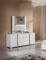 Modrest San Marino Modern White Dresser by VIG Furniture MADE IN ITALY
