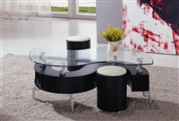 200C Black Coffee Table