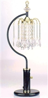 Chandelier Table Lamp in Black