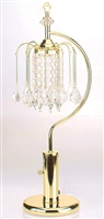 Chandelier Table Lamp in Gold/Brass