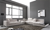 Divani Casa Forte Grey Microfiber Modern Sectional by VIG Furniture