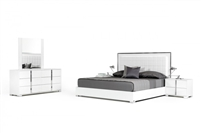 Modrest San Marino Modern White Bedroom Set