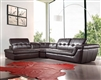 Divani Casa Refata - Modern Italian Leather Sectional Sofa by VIG Furniture