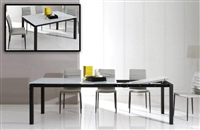 Modrest Commix - Modern Extendable Glass Dining Table by VIG Furniture