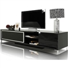 Brighton Mini Black Lacquer Entertainment Center
