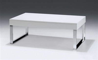 Modrest Ailee Modern White Coffee Table J030 by VIG Furniture